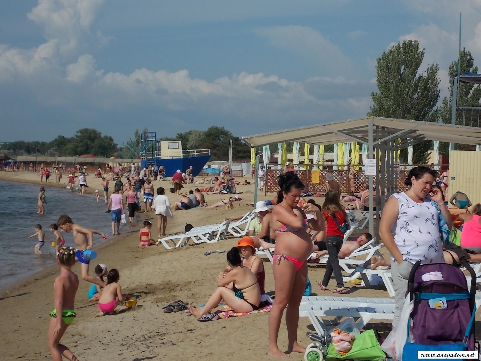 Анапа в июне фото пляжа