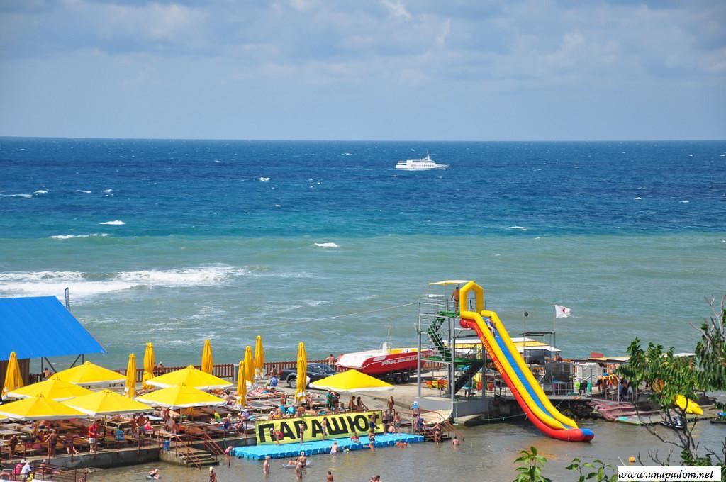 Карта Анапы лучшие пляжи с фото и описанием  Джемете